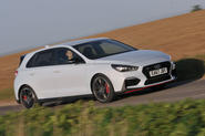 Hyundai i30 N 2018 UK review hero front