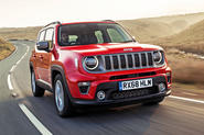 Jeep renegade Longitude 2019 UK first drive review - hero front