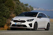 Kia Proceed 2019 first drive review - hero front