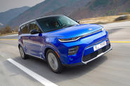 Kia Soul EV 2019 first drive review - hero front