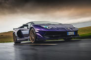Lamborghini Aventador SVJ 2018 UK first drive review - hero front