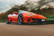 Lamborghini Huracán Spyder 2020 UK first drive review - hero front