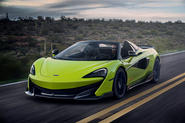 McLaren 600LT Spider 2019 first drive review - hero front