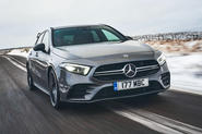 Mercedes-AMG A35 2019 UK first drive review - hero front