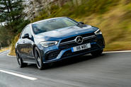 Mercedes-AMG CLA35 2020 UK first drive review - hero front