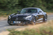 Mercedes-AMG GT C 2018 first drive review hero front