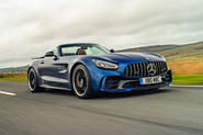 Mercedes-AMG GT R Roadster 2019 UK first drive review - hero front
