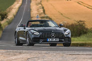 Mercedes-AMG GT Roadster 2019 UK first drive review - hero front