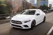Mercedes-Benz A-Class saloon 2018 first drive review hero front