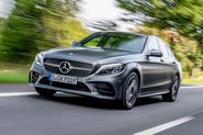Mercedes-Benz C-Class C200 AMG Line 2018 UK review hero front