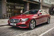 Mercedes-Benz E300e 2019 UK first drive review - hero front