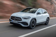 Mercedes-Benz GLA 2020 UK first drive review - hero front