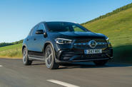 Mercedes-Benz GLA 220d 2020 UK first drive review - hero front