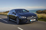 Mercedes-Benz CLA Shooting Brake 220d 2020 UK first drive review - hero front