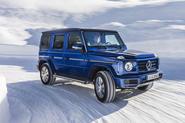 Mercedes-Benz G-Class G350d 2018 first drive review - snow front