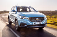 MG ZS EV 2019 UK first drive review - hero front