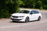 Peugeot 508 SW 2019 UK first drive review - hero front