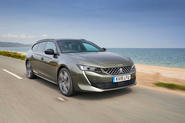 Peugeot 508 SW PureTech 225 GT 2019 UK first drive review - hero front