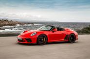 Porsche 911 Speedster 2019 first drive review - hero front