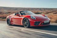 Porsche 911 Speedster 2019 UK first drive review - hero front
