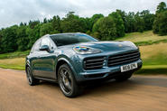 Porsche Cayenne 2018 UK first drive review hero front
