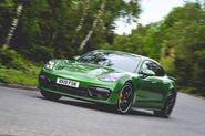 Porsche Panamera GTS 2019 UK first drive review - hero front