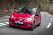 Skoda Citigo-e iV 2020 UK first drive review - hero front