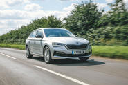 Skoda Scala 1.5 TSI SE 2019 UK first drive review - hero front