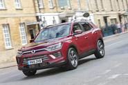 Ssangyong Korando Ultimate 2019 UK first drive review - hero front