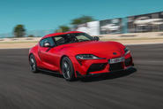 Toyota GR Supra 2019 first drive review - hero front