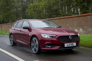Vauxhall Insignia sports tourer 2019 first drive review - hero front
