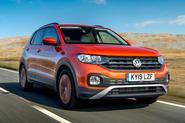Volkswagen T-Cross 2019 UK first drive review - hero front