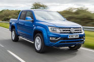 Volkswagen Amarok V6 2018 UK review hero front