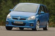 Vauxhall Zafira VXR - hero front