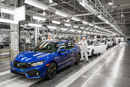 Honda Civic Swindon factory