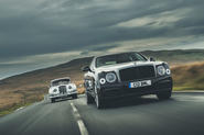 Bentley V8 feature