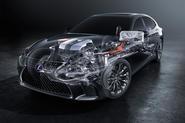 Lexus LS 500h flagship hybrid powertrain confirmed ahead of Geneva