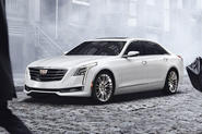 The Cadillac CT6 is expected to reach the UK early in 2016