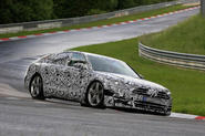Audi A8 testing at the Nurburgring