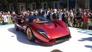 De Tomaso P72 front side