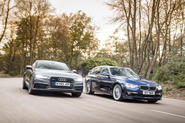 Alpina D3 Biturbo and Audi A7