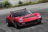 Lamborghini reveals restored one-off Miura SVR