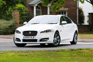 Jaguar XF - tracking front