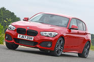 BMW 1 Series - tracking front