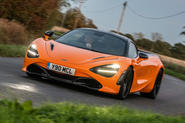 McLaren 720S Track Pack 2018 UK first drive review - hero front