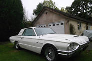 Ford Thunderbird - static front