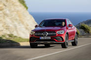 Mercedes GLC Coupe 2019 press - on the road nose