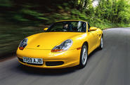 Porsche Boxster - tracking front