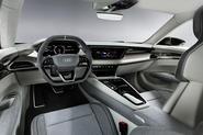 Audi E-tron GT concept official reveal - interior design