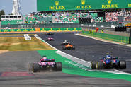 New Tarmac at Silverstone for 2019 - action shot